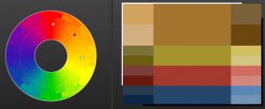 Colour scheme designer