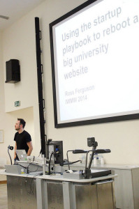 Ross Ferguson at IWMW 2014