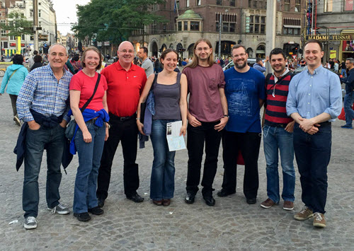 EdWeb project team in Amsterdam