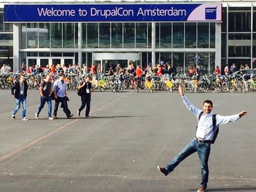 Drupal Conference building Amsterdam