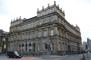 The Waverley Gate building on Edinburgh's Princes Street.