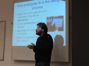 A capture of Duncan's presentation at Innovative Learning Week