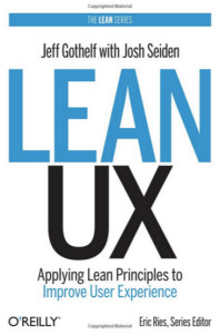 Cover of the Lean UX book