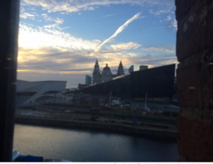 View of Albert Dock, Liverpool