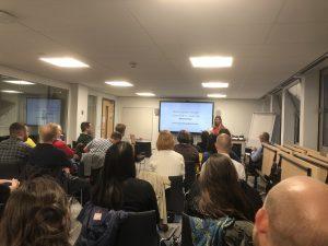 Public Sector Design Community meetup at Argyle House